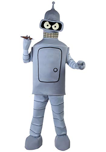 Adult Bender Costume X-Large Gray