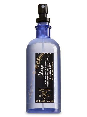 Bath and Body Works Aromatherapy Pillow Mist Lavender Vanilla (Retired Fragrance) 5.3 Fl Oz ()
