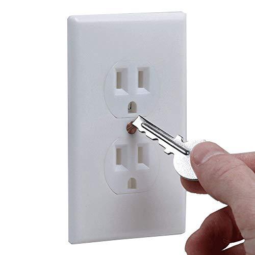 TG888 Safe Wall Electrical Outlet Key Hidden Secret Hide Keys Vault Security Compartment Socket