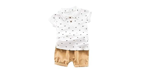 Patifia - Juego de Ropa para bebé, Camiseta de Manga Corta y ...
