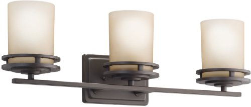 Kichler 5078OZ Bath 3-Light, Olde - 3 Umber Vanity Light