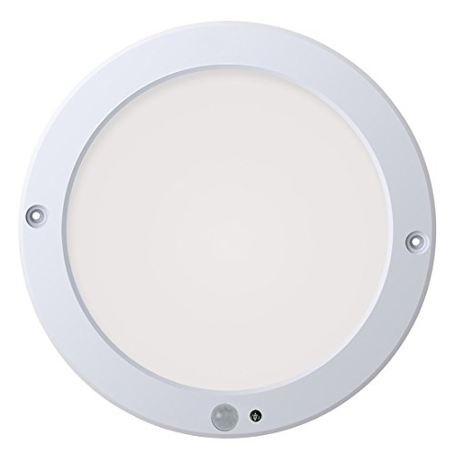 Adjustable Ceiling Mount - Xing ruiying Motion Sensor LED Ceiling Lights Flush Mount, Twilight Setting Adjustable, 15W 1200LM, Daylight White 4000K