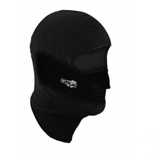 Clavagator Balaclava Head, Face and Neck Mask,Large,Black/Black by Generic
