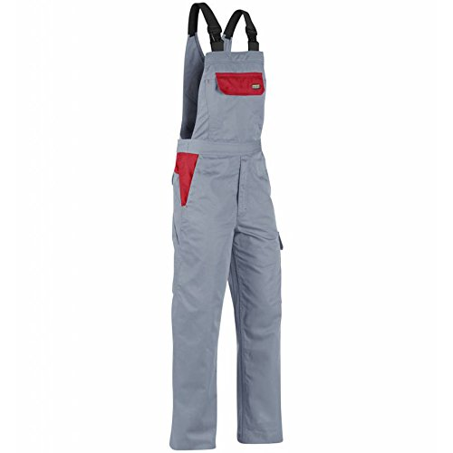 266418009456C152 Overall''Industry'' Size 36/34 (Metric Size C152) IN Grey/Red by Blaklader (Image #1)
