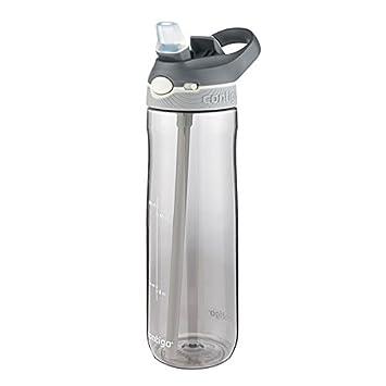 Contigo Ashland Botella de hidratación, Unisex Adulto, Azul, 720 ML: Amazon.es: Deportes y aire libre