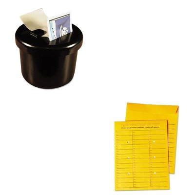 KITLEE40100UNV63570 - Value Kit - Universal Interoffice Press amp;amp; Seal Envelope (UNV63570) and Lee Ultimate Stamp Dispenser ()