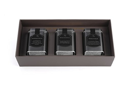 Raw Organic Loose Leaf Greek Herbal Tea - Original/Relaxing Blend/Revitalizing Blend- Supports Immune System and Promotes Healthy Digestion - Tea Blend (20gr) - Variety Pack - Gift (Wellness Set)