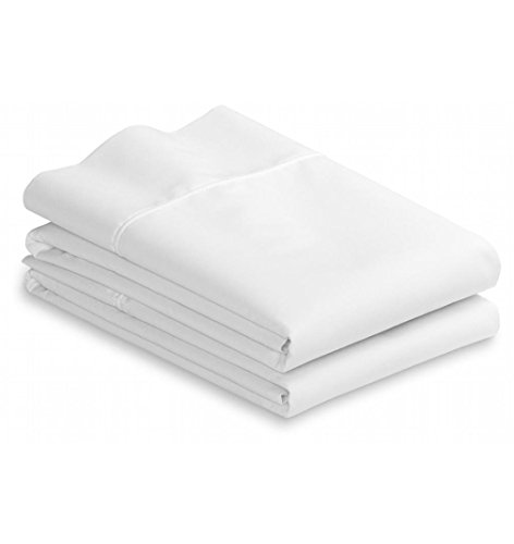 White Cotton standard pillowcases set of 2-200TC Heavy Weigh