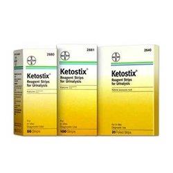 Ketostix Reagent Urine Test Strips for Ketones - Box of 1200 Strips - AMS2881_CSAMS2881_CS by Bayer
