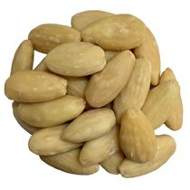 Whole Blanched Almonds 400 oz by Olivenation