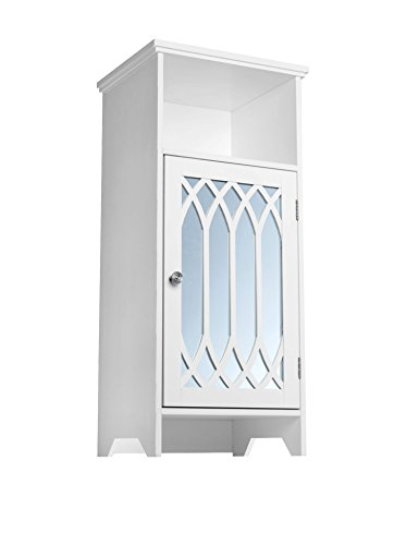 Elegant Home Fashions Chateau Calais 1-Door Floor Cabinet in
