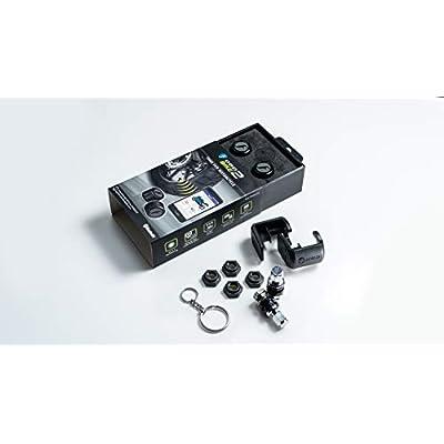 FOBO Bike 2 Tire Pressure Monitoring Systems (Black): Automotive