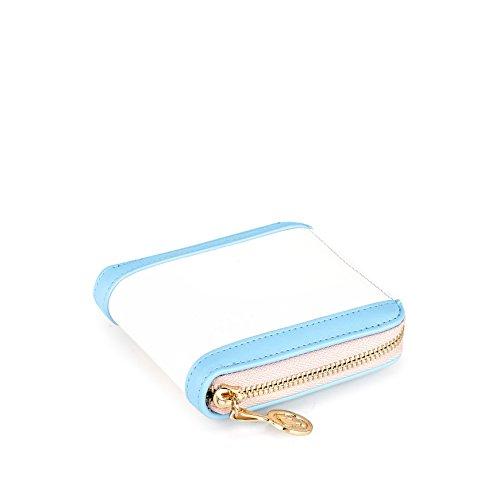 Femmes de BBPS052 Elegant Mode à en la Filles Bleu PU Porte pour série Barbie Monnaie Shopping bleu UgvwAw