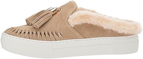 0deefa7bbe027 J Slides Women's Azul Sneaker, Sand Suede, 6.5 Medium US: Amazon.com ...