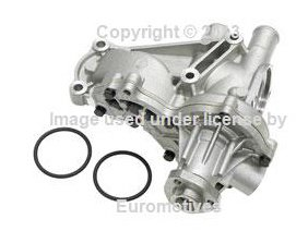 (VW 4cyl (85-02) Water Pump w/ Housing UPGRADED high output pressure)