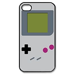 IPhone 4/4s Case Let's Play a GameBoy, - [Black] Jumphigh