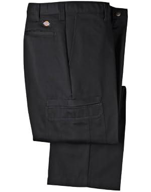 Mens LP337 Cotton Cargo Pant-BLACK