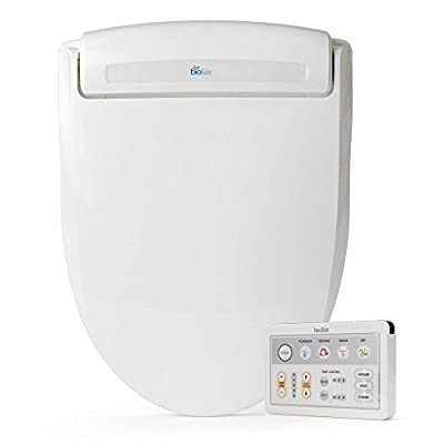 BB-1000R BioBidet Supreme Electric Bidet Seat for Round Toilets, White