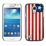 Shell-Star ( National Flag Series-Liberia ) Snap On Hard Protective Case For Samsung Galaxy S4 MINI / i9190 / i9192 by lolosakes