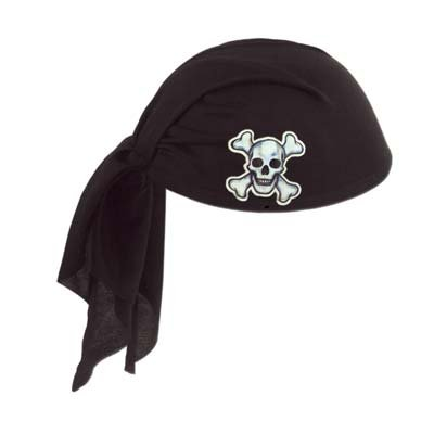 (Pirate Black Scarf Hat)