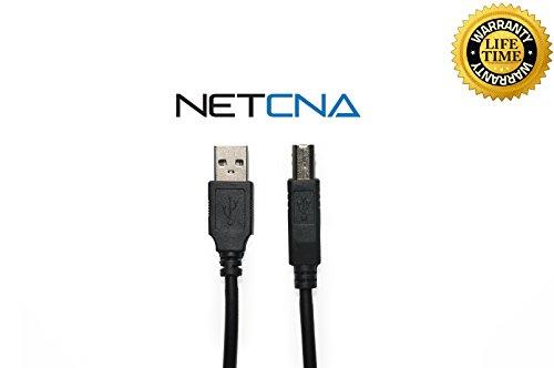 1200se Printer (Netcna® 6 Feet USB Cable for HP LaserJet 1200se - 2.0 Printer Cable)