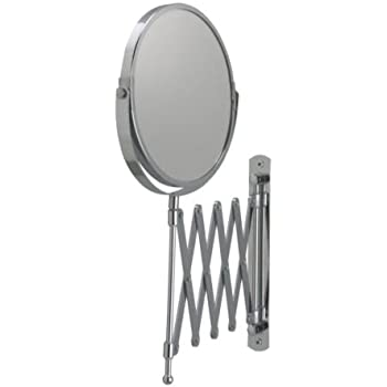 Gatco 1439c Accordian Arm Wall Mount Mirror Chrome