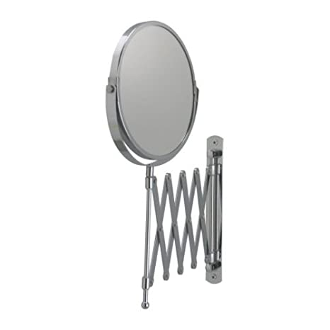 IKEA - FRACK Extendable Magnifying Mirror Stainless Steel Baby Mirror Toys at amazon
