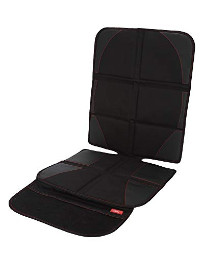 (Diono Ultra Mat Deluxe, Vehicle Seat Protector and Child Car Seat Sun Shade, Black )