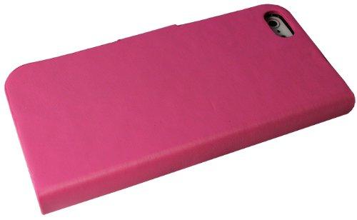 Avcibase 4260310649917 Kunstleder Bumper Etui für Apple iPhone 5/5s pink