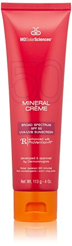 MDSolarSciences Mineral Crème Broad Spectrum SPF 50 Sunscreen, 4.0 oz.