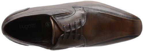 Bugatti Mattia U18021 - Zapatillas clásicas de napa para hombre Marrón (Braun (braun 600))