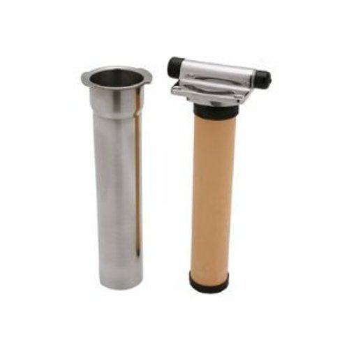 Rohl U.1812 Perrin and Rowe Integrated Faucet Filtration in Line Filter with Cartridge, Complete Stainless Steel Housing
