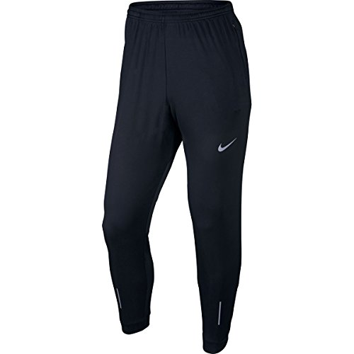 Nike Essential Men's Knit Running Pants (L, Black)