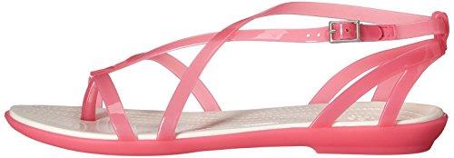 Pink oyster Paradise Donna Sandali Crocs IFnqtY6t