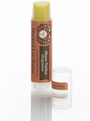 Organic Herbal Lip Balm-Zingy Cinnamon