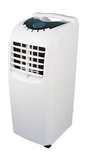 Global Air NPA1-10C 10000 BTU Portable Air Conditioner, Medium, White