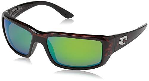 Costa Del Mar Fantail Sunglasses, Tortoise, Green Mirror 580 Plastic Lens