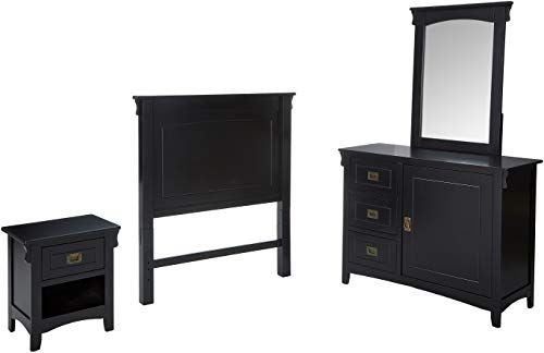- Powell's Furniture Mission Bedroom in a Box, Black