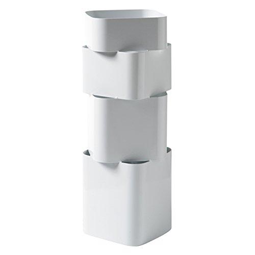Torre & Tagus 901844A Rubix Umbrella Stand, White