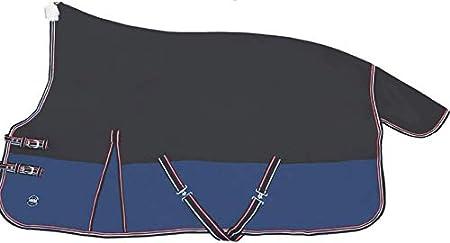 Highneckdecke mit Fleecefutter anthrazit/dunkelblau HKM