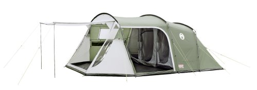 Coleman Lakeside 6 Deluxe Family Tent -Green/White Amazon.co.uk Sports u0026 Outdoors  sc 1 st  Amazon UK : best family tents uk - memphite.com