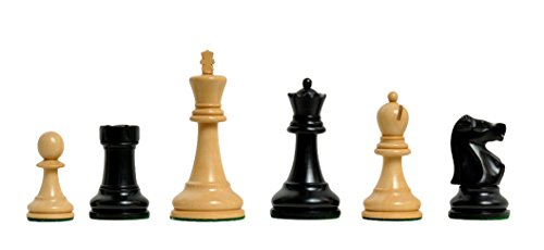 Chess Ebonized (The House of Staunton - The New Fischer Spassky Series Commemorative Chess Set - Pieces Only - 3.75