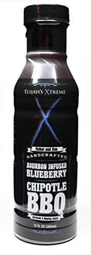 Elijah's Xtreme Bourbon Infused Blueberry, Chipotle BBQ ()