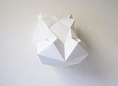Origami Hippopotamus by Steven Casey Folded from a square of ... | 329x450