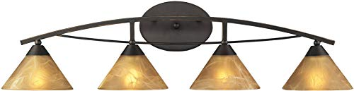 Vanity Elysburg 4 Light - Elk 17029/4 Elysburg 4-Light Vanity in Aged Bronze