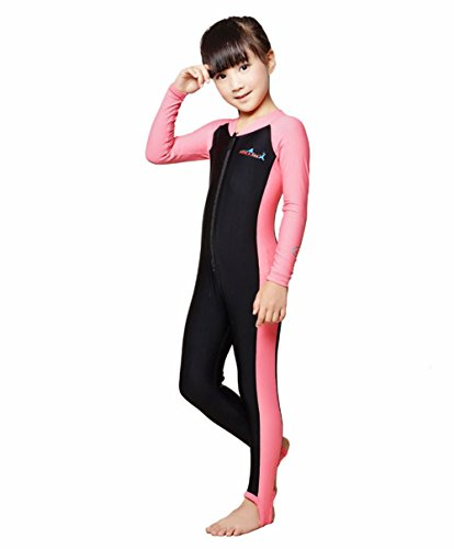 Price comparison product image A Point Wetsuits Youth Full Wetsuit For Kids (M(105-120cm), girl's pink)