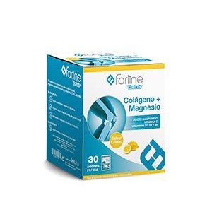 Farline activity colágeno + magnesio 30 sobres sabor limón: Amazon.es: Salud y cuidado personal