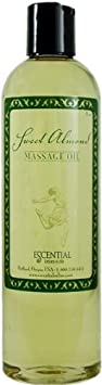 Escential Rain Sweet Almond Massage Oil