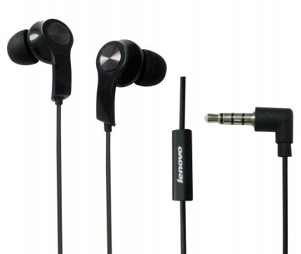 Lenovo Headset P180  3.5mm Half in Ear Headphone with Microp