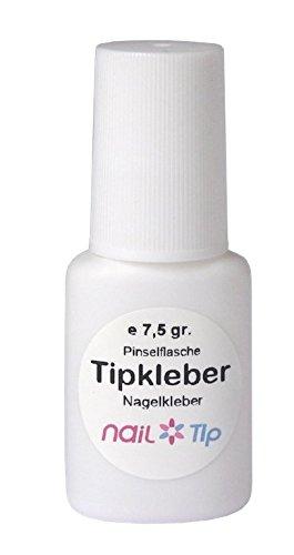 Tipkleber/Nagelkleber in Pinselflasche, 7,5 gr. Nailtip UG